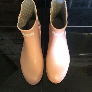 London fog short rain boots